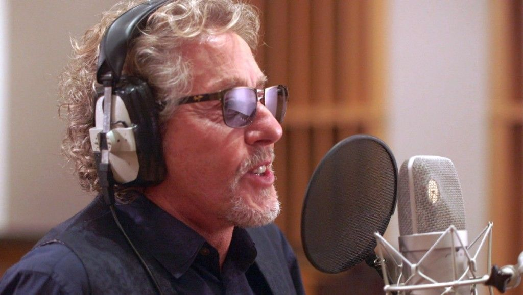 "Roger Daltrey re-recording ""Let My Love Open The Door"" for a Teen Cancer America/First Citizens Bank program to help young adults with cancer."